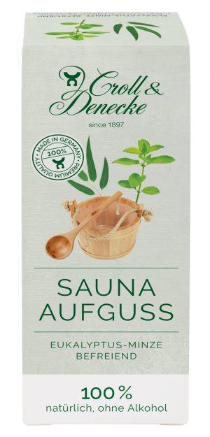 Sauna Aufguß eukayptus minze