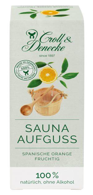 Sauna Aufguß Spanische Orange