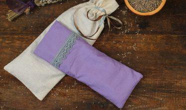 Lavendel-Augenkissen